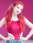 RedVelvet朴秀荣图片 一头红发的joy捕获众多粉丝的心