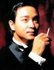 张国荣抽烟图片 网友说抽烟的小哥哥怎么那么的帅气