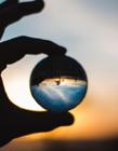 透明玻璃球图片 玻璃球图片大全