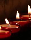 烛火图片 闪闪发光美丽极了