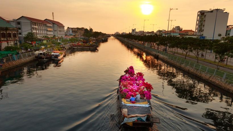 越南胡志明市图片