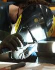 电焊工人照片 电焊工工作照片