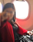 女子飞机上霸坐 该女子的行为引起了众人的不满纷纷指责