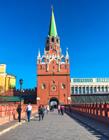 俄罗斯莫斯科建筑图片 俄罗斯建筑风格很美