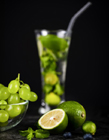 葡萄柠檬汁图片 葡萄和柠檬能一起吃吗