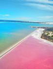 澳大利亚麦克唐纳尔湖图片 麦克唐纳尔湖为什么是粉色的