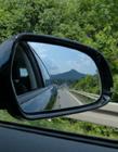 汽车后视镜图片 汽车后视镜调到什么位置最好