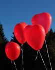 心形红气球图片 红气球图片 红气球图片大全
