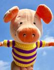 猪玩偶图片 猪玩偶图片大全 网友:呆萌可爱惹人爱