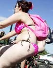 2013英国伦敦自行车裸骑节