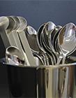 金属勺子图片 金属勺子能带上飞机吗