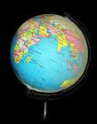 地球仪图片 地球仪是地球缩小的模型对吗