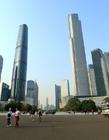 广州双子塔图片 广州双子塔真实图片 广州双子塔在哪里