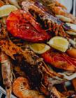 真实海鲜大餐聚餐照片 家庭海鲜大餐照片