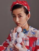 张子枫童星内双女生最新写真图