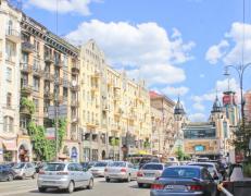 乌克兰首都基辅城市风景图片