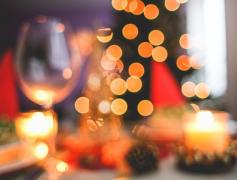 创意节日圣诞元素背景素材图片