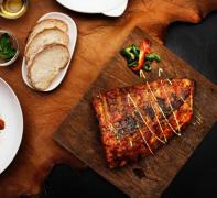 西餐摆盘牛排美食高清图片