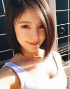 美女赵奕欢最新自拍微信头像图