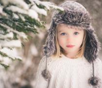 可爱梦幻小女孩高清儿童写真图片