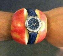 苹果手表恶搞图片