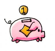 小猪存钱罐简笔画步骤画法教程图片