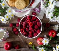 红莓水果美食高清图片