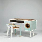 创意办公桌改造智能音响高清图片