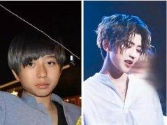 蔡徐坤整容成名前后对比图