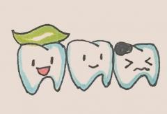 牙齿简笔画步骤画法教程图