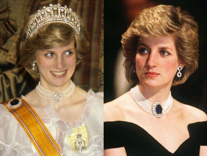 戴安娜王妃服饰和珠宝图片