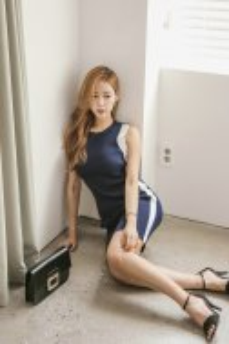 韩国美女模特的私房照