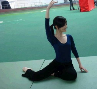 李小璐九年前跳芭蕾的�D片