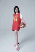 杨子姗篮球世界杯城市应援官图片