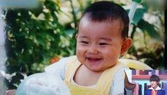 王源小�r候的童年照