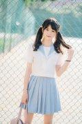 JK制服美少女清纯可爱小清新写真图片