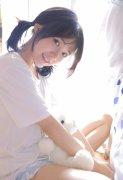 清纯美女萝莉白色T恤性感美腿私房唯美写真