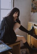 黑丝超短裙暗黑系美少女清纯气质唯美写真