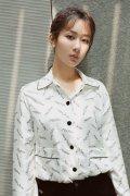 杨紫优雅知性白衬衫高清品牌活动图片