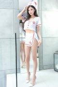 护士装杨晨晨制服诱惑前凸后翘人体艺术写真