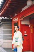 小清新美女日系和服甜美写真图片
