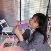 小清新制服美女学生教室写真图片