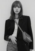 韩国美女Lisa性感魅力黑白写真图片
