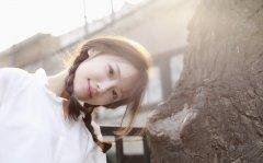 高晴清纯唯美日系户外写真