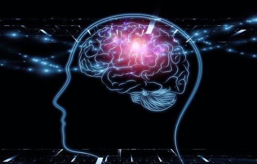 创意四维空间图片_人脑