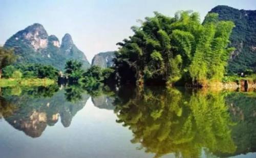 山川水秀,美丽风景