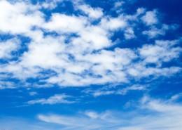 蓝天白云美丽风景自然图片