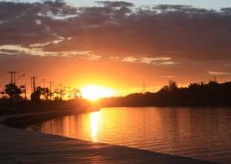 唯美日落风景图片