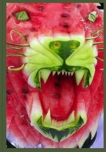 西瓜老虎嘴