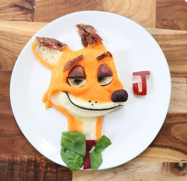�P子里面的小狐�
